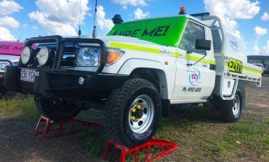 Mine Compliant Vehicle Signage