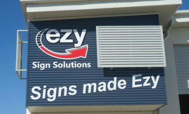 3D Building Signage
