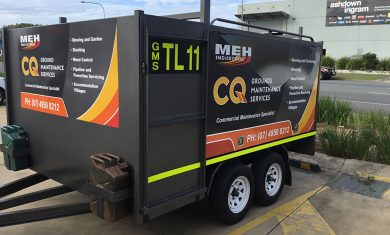 Mine Compliant Trailer Signage