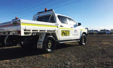 Mine Spec Vehicle Signs