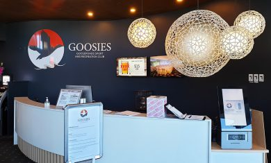 Goosies Gooseponds Sport and Recreation club Mackay Reception Signage