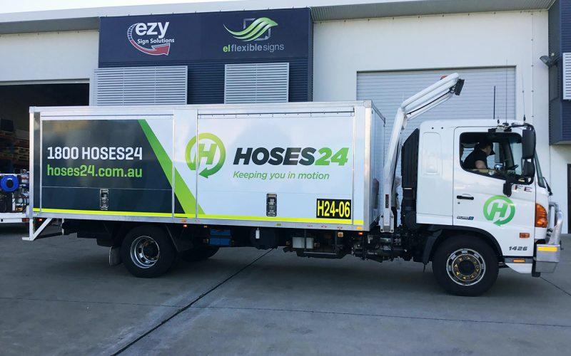 Hoses 24 Truck Signage